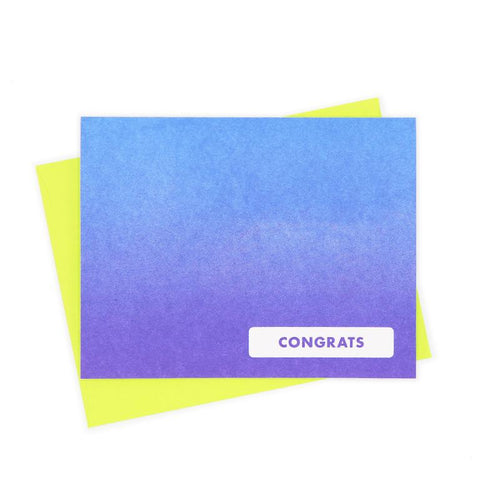 Congrats Greeting Card - Next Chapter Studio