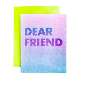 """Dear Friend"" - Sympathy and Apology Card - Next Chapter Studio"