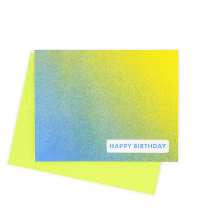 Happy Birthday Card - Next Chapter Studio