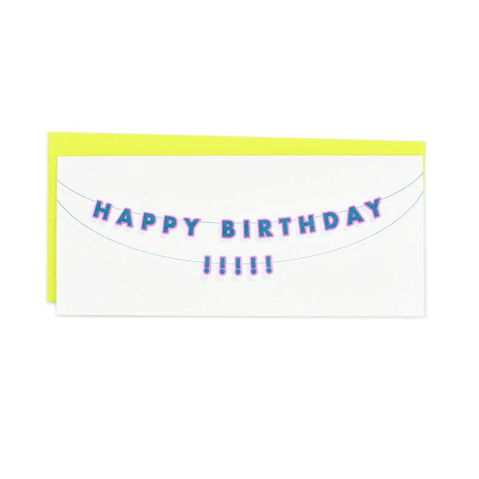 Happy Birthday Decorations Card - Next Chapter Studio