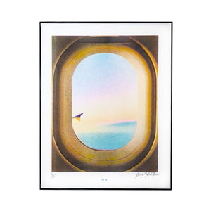 In Flight - Risograph Art Print - Next Chapter Studio