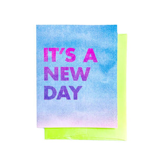 """It's a New Day"" - Sympathy Card - Next Chapter Studio"