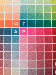 Next Chapter Studio Risograph Color Chart - January 2020 - Next Chapter Studio