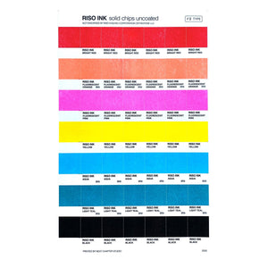 RISO Color Swatches - Risograph Art Print - Next Chapter Studio
