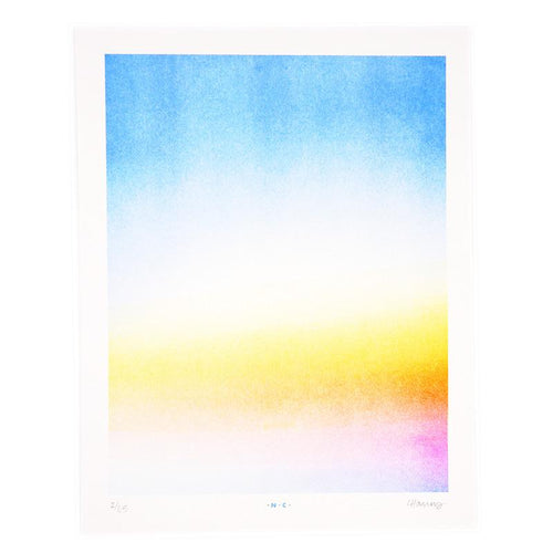 Sunrise at Dawn - Risograph Print - Next Chapter Studio