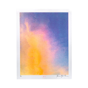Sunset Series #1 - Risograph Art Print - Next Chapter Studio