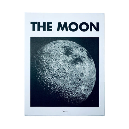 The Moon - Planet Risograph Print - Next Chapter Studio