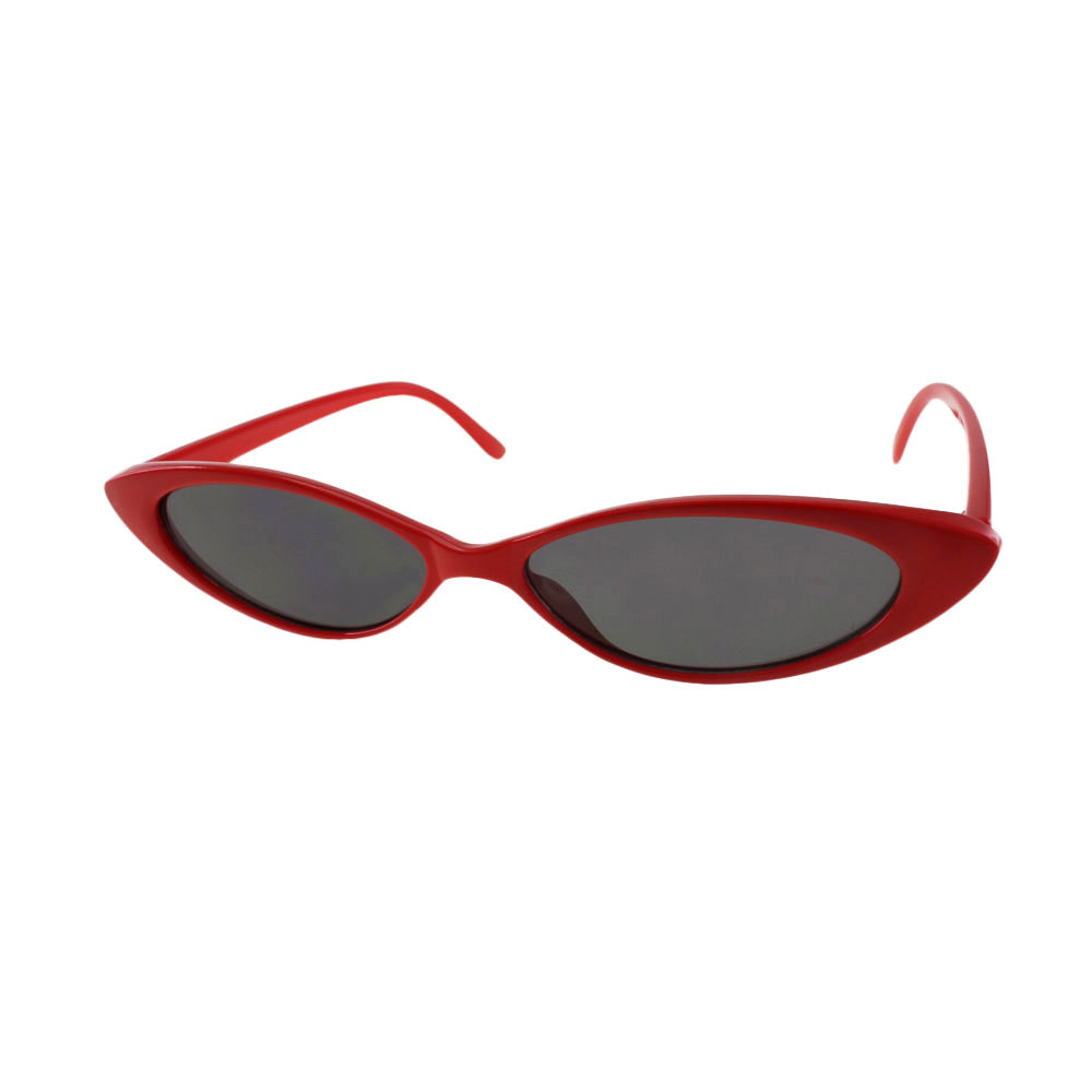 Jetson Sunglasses in Red / Smoke