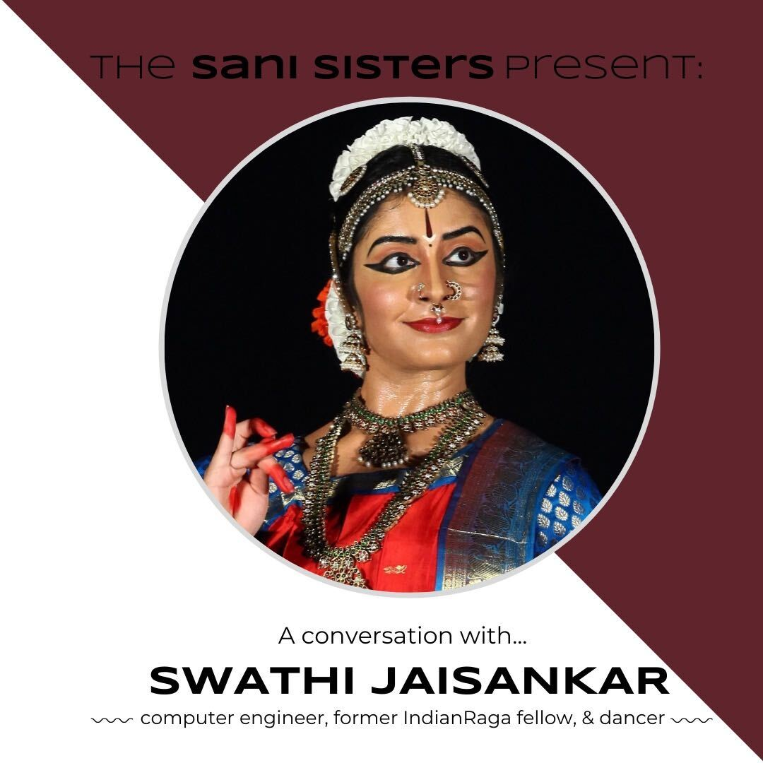 The Sani Sisters Present: A Conversation with Swathi Jaisankar
