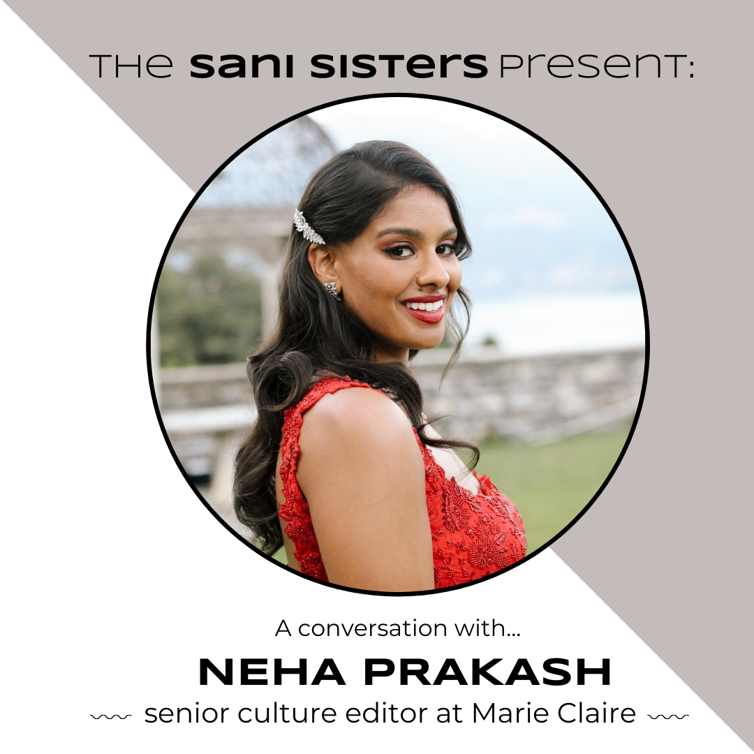 The Sani Sisters Present: A Conversation with Neha Prakash
