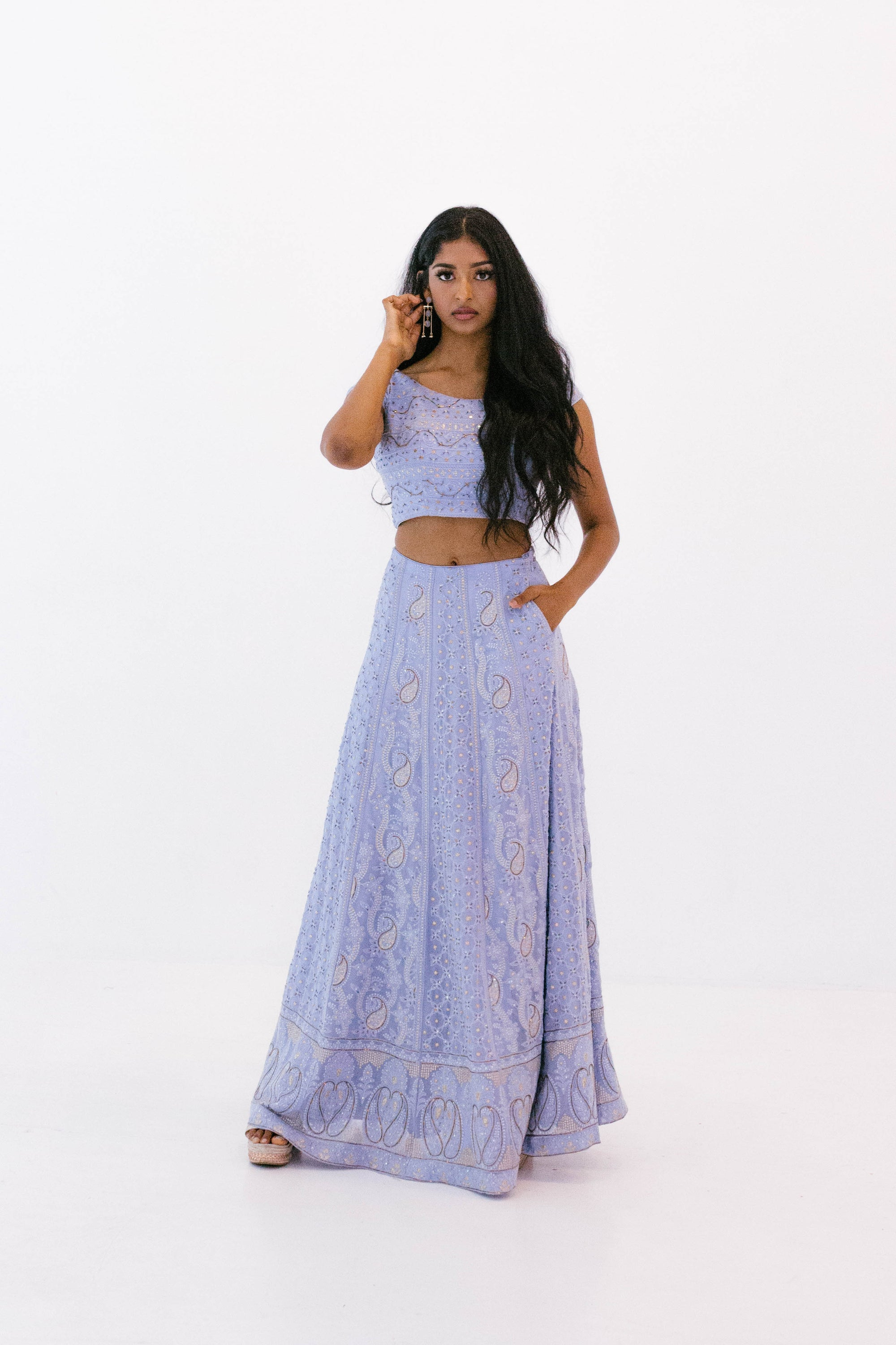 Azur Lehenga (Made to Order)
