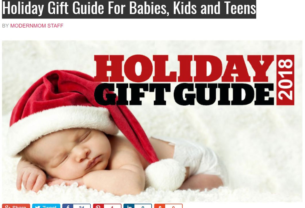 MODERNMOM.com (CEO Brooke Burke) Holiday Gift Guide