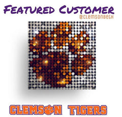 clemson tigers pixel art pix Perfect wall art