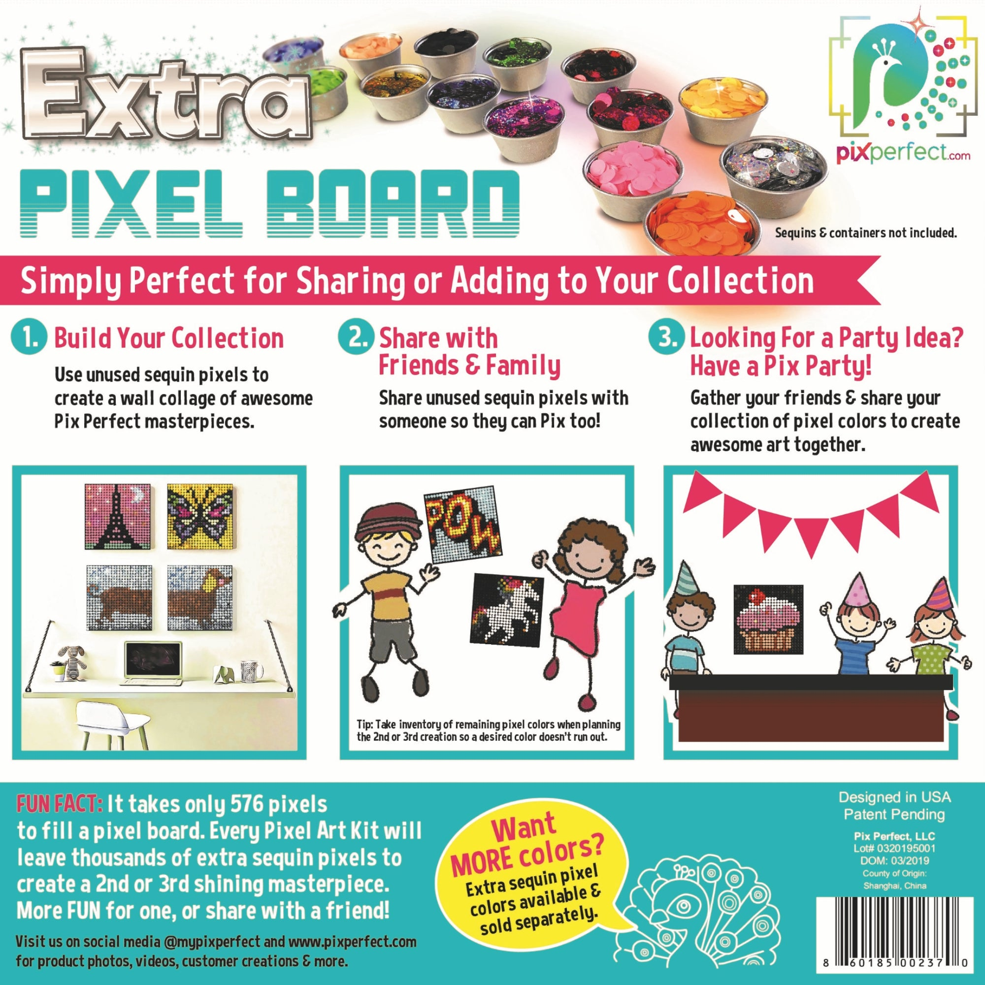 Extra Pixel Board by Pix Perfect