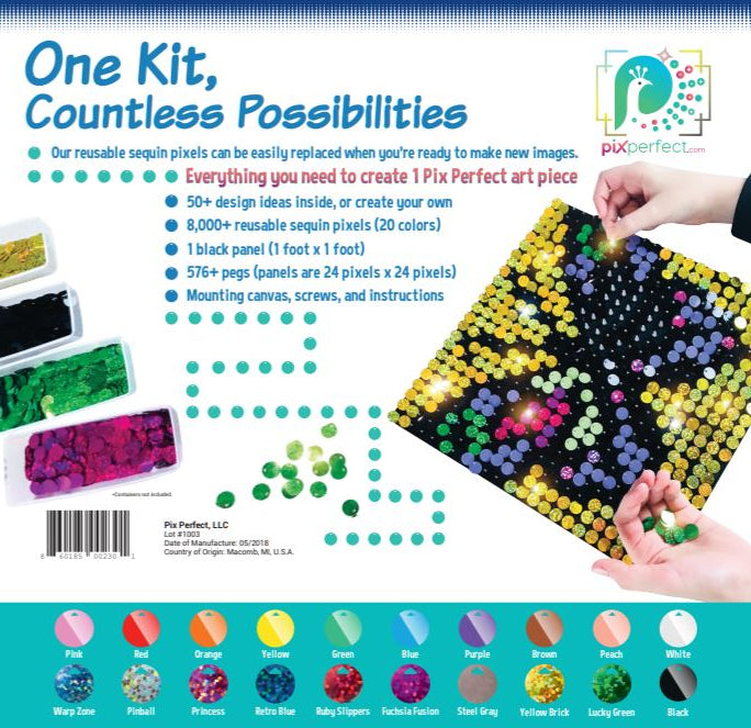 2018 Edition - Pixel Art Kit by Pix Perfect