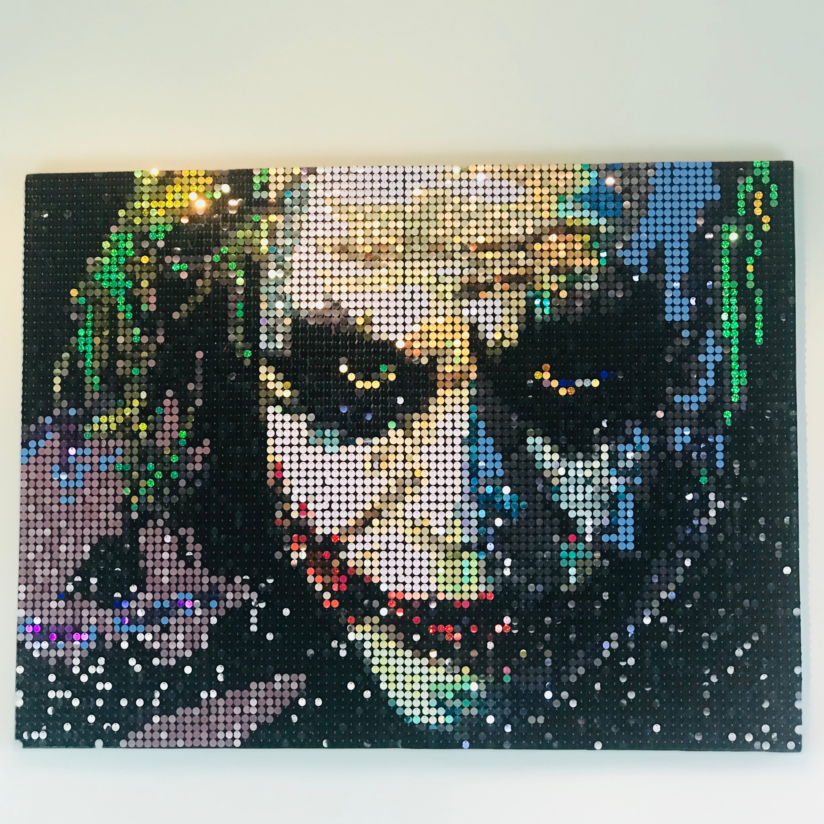 Pix Perfect Pixel Art Heath Ledger Joker