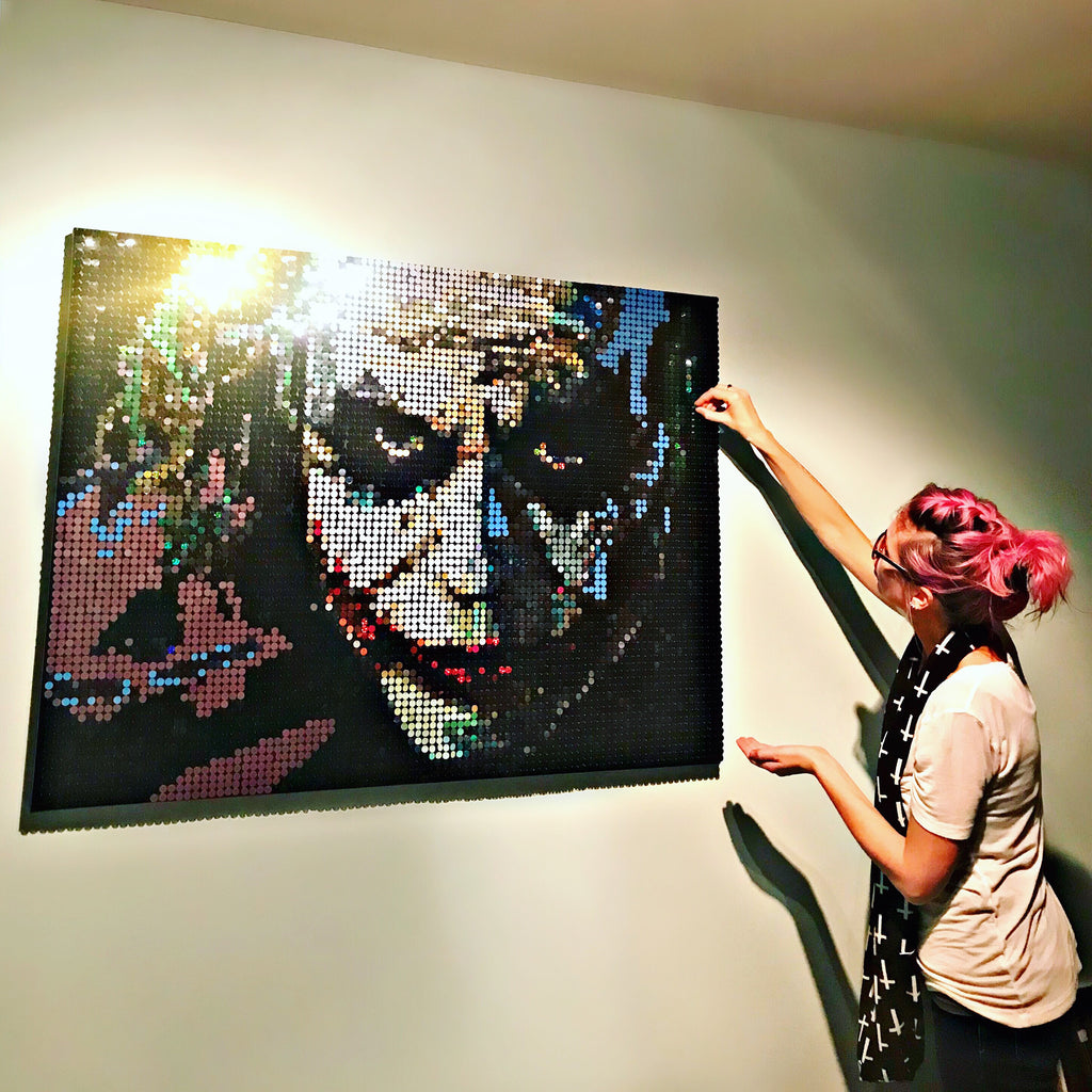 Pixel Art Joker by Pix Perfect