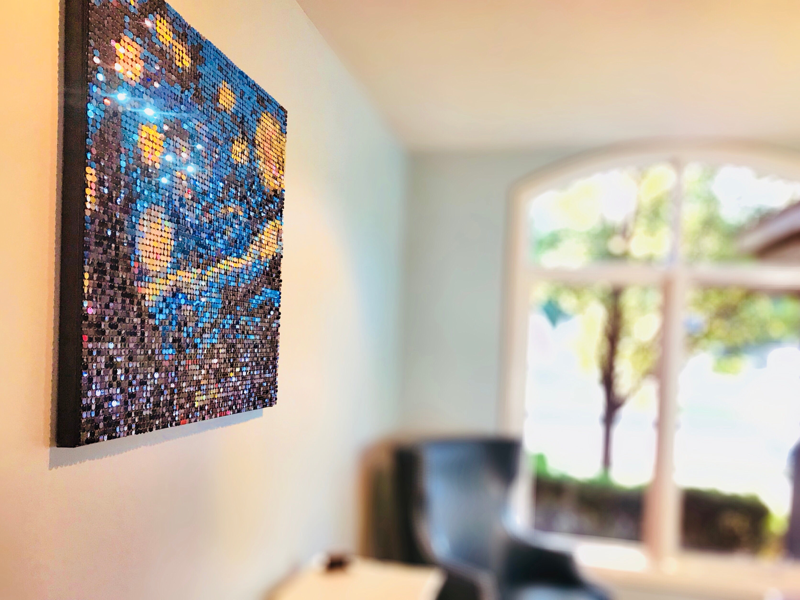 DIY Starry Night Inspired Kit- 3'x3'