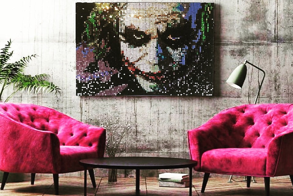 Heath Ledger Joker Art by Lisa