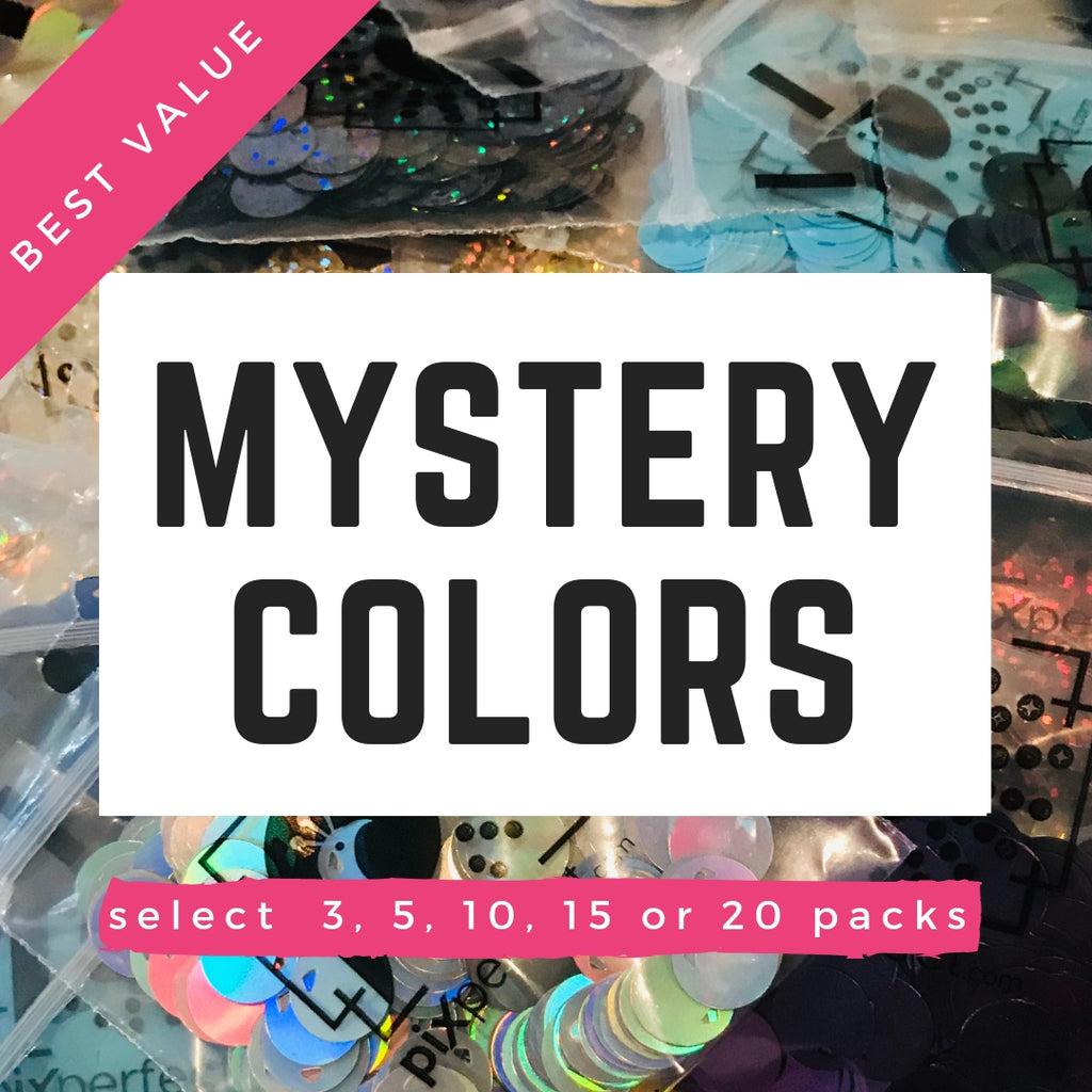 Pixel Sequins: Mystery Pack -400 ea