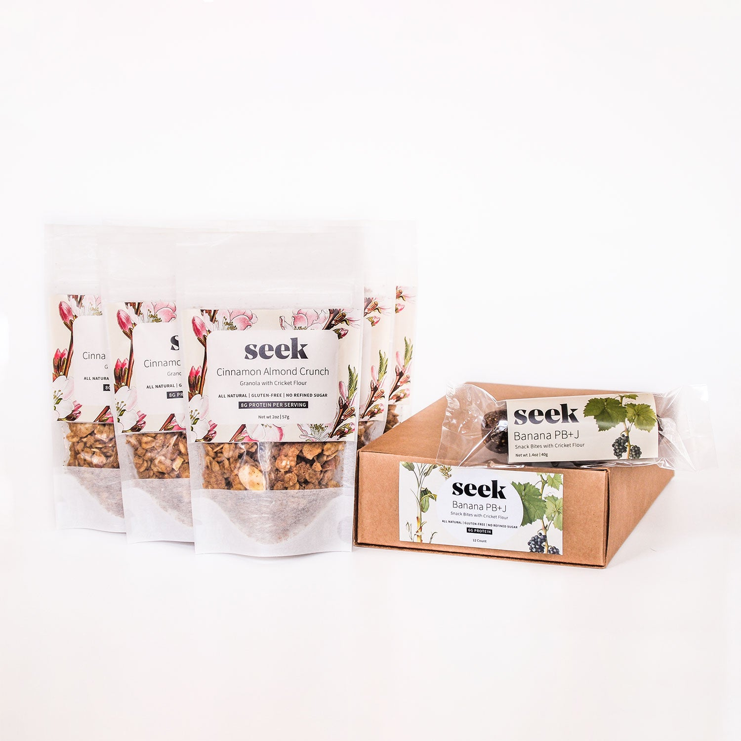 Cricket Protein On-The-Go Pack,  - Seek Food