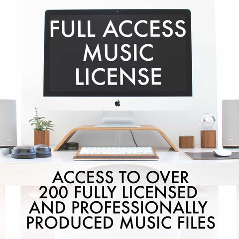 Full Access Music License by Alumo