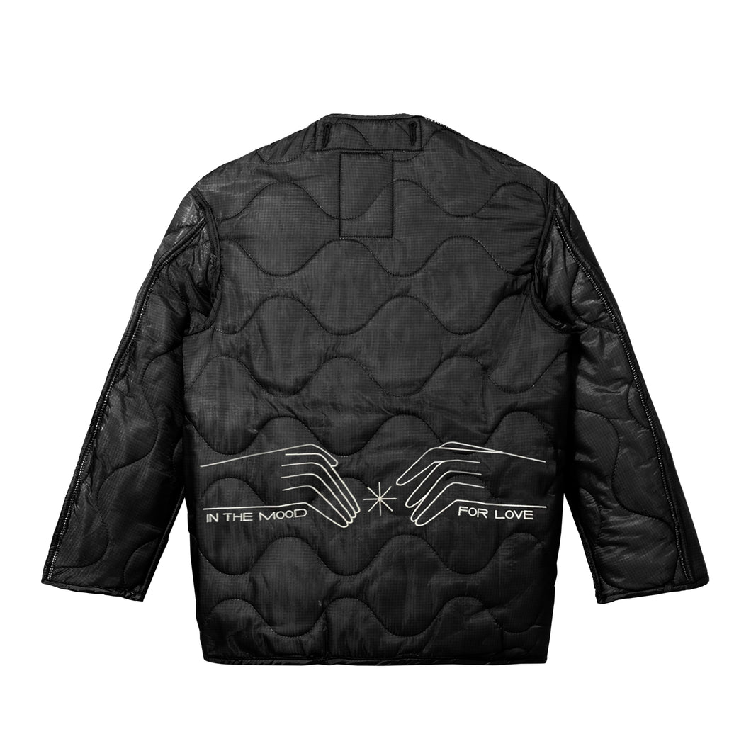 Flowery Years Jacket, Black