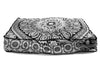 Amazing Technicolored Dream Bed and Meditation Pillow: Black and White