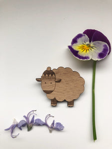 Farmyard Friends - Sheep Pin