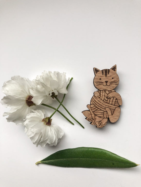 Farmyard Friends - Cat Pin