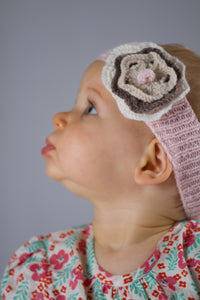 Flower and Bow Headbands
