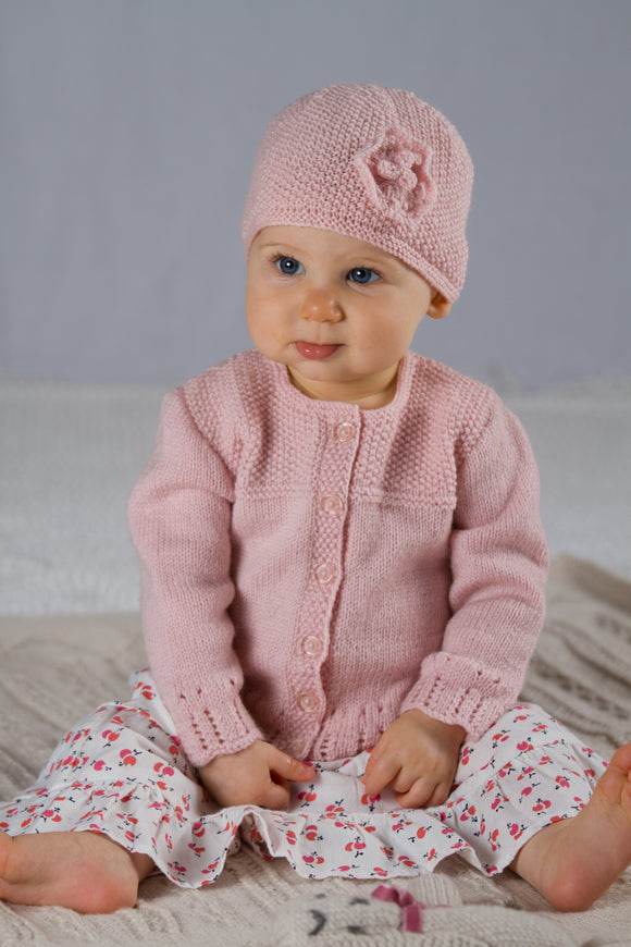 Abigail Cardi and Hat