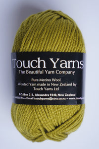 Touch Yarns Pure  Merino 8ply