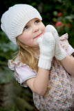 Snow White Hat and Mittens