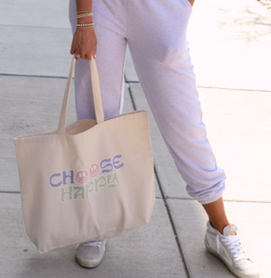 Choose Happy Essential Tote