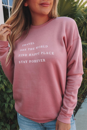 See The World Sweatshirt
