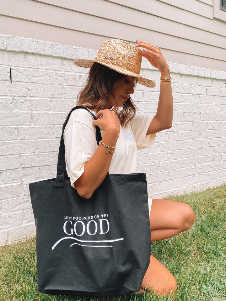 Black Good To Be Tote