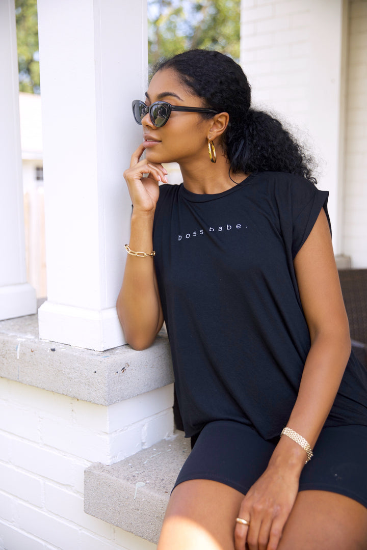 Boss Babe Muscle Tee
