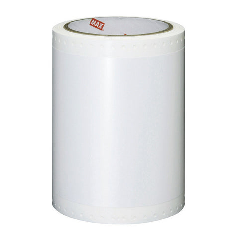 CPM 100 Gloss polyester WHITE with OILY SURFACE adhesive