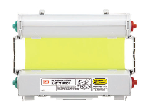 CPM 100 SL-R117T YMCK-Y RIBBON (Yellow)