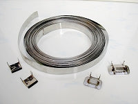 GRADE 304 Stainless Steel Strapping 12.7m x .4mm