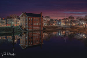 Old Courthouse at Night, Newburyport, MA - File #10501