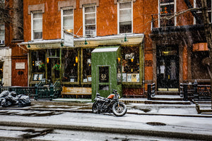 East Village on a snow day, NYC - File #390
