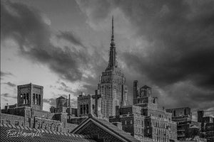 Empire State Building from the Highline, NYC - File #1303