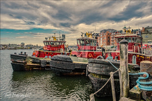 More tugboats, Portsmouth, NH - File #411