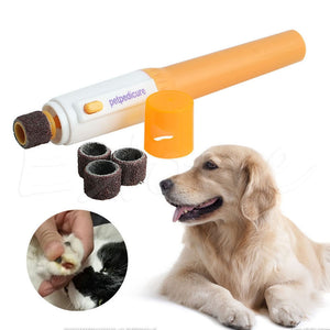 Pet Dog Cat Nail Trimmer Grinder Electric Grooming Tool Care Clipper - groomin101