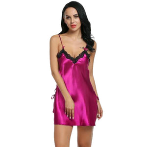Lace Spice Lingerie G-String Strap Dress Sleepwear - groomin101