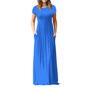 Evening Party Dress With Sleeves