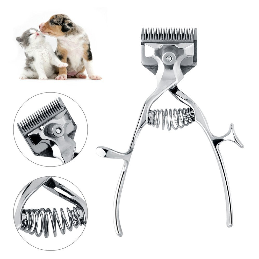 Pet Grooming Scissors Clippers For Cat Dog hair Manual Trimmer Shaver - groomin101