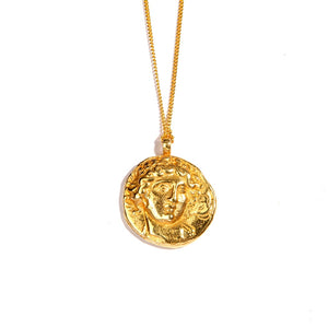Ancient God of Sun 24K Gold Coin